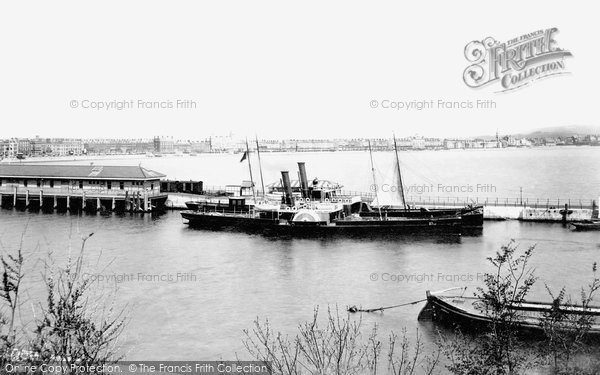 Photo of Weymouth, Harbour 1898
