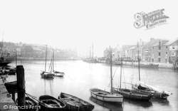 Weymouth, Harbour 1913