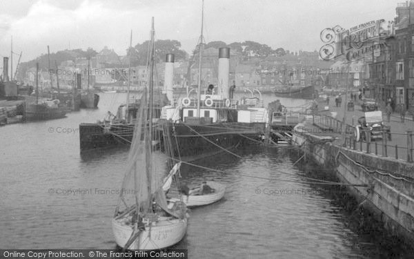 Photo of Weymouth, Harbour 1918