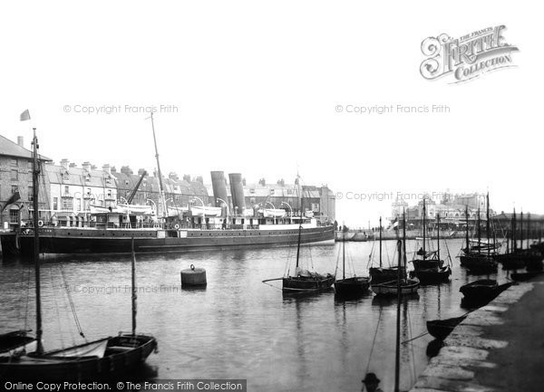 Photo of Weymouth, Harbour And Pier Pavilion 1913