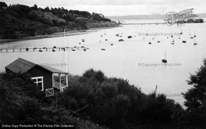 Photo of Weymouth, Harbour From Castle Cove c.1950