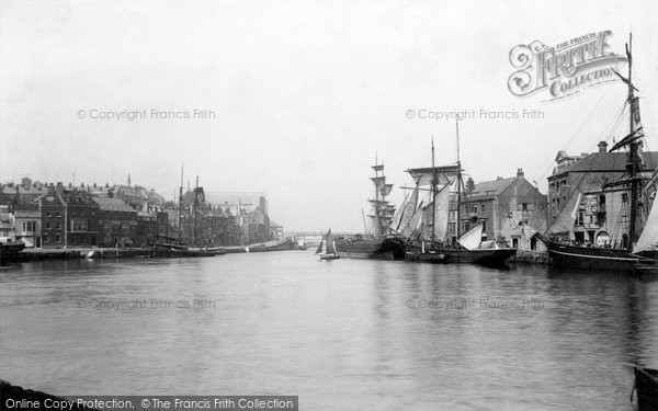 Photo of Weymouth, In The Harbour 1898