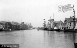 In The Harbour 1898, Weymouth