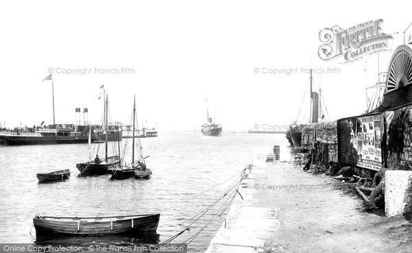 Photo of Weymouth, Jersey Boat 1890