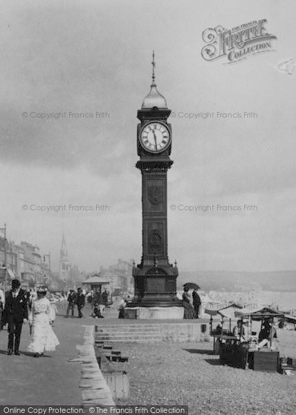 Photo of Weymouth, Jubilee Clock Tower 1904