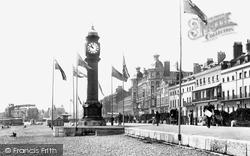 Parade And Clock Tower 1898, Weymouth