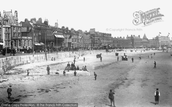 Photo of Weymouth, Parade And Sands 1898