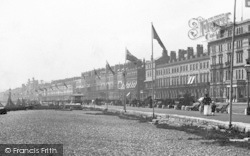 Weymouth, Parade And Sands 1898
