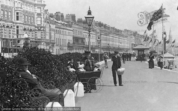 Photo of Weymouth, Perambulator 1898