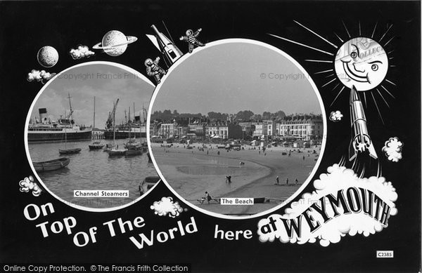 Photo of Weymouth, Postcard Design 1961