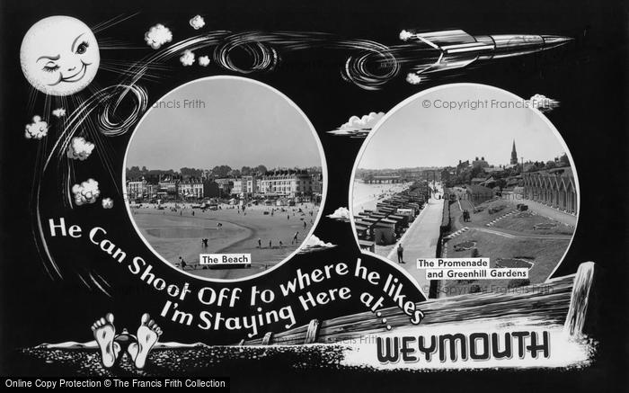 Photo of Weymouth, Postcard Design 1961