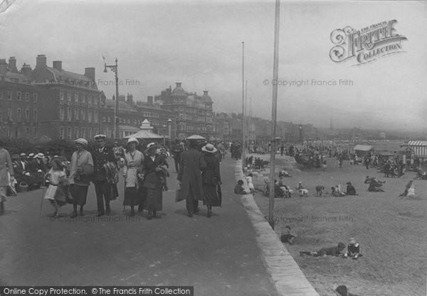 Photo of Weymouth, Promenade 1918