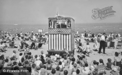 Punch And Judy Show On The Beach c.1955, Weymouth