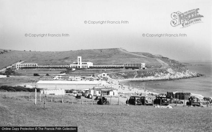 Photo of Weymouth, Riviera Hotel c.1955