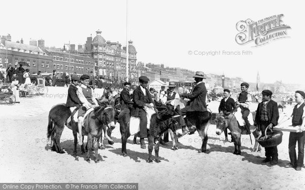 Photo of Weymouth, Sands 1904