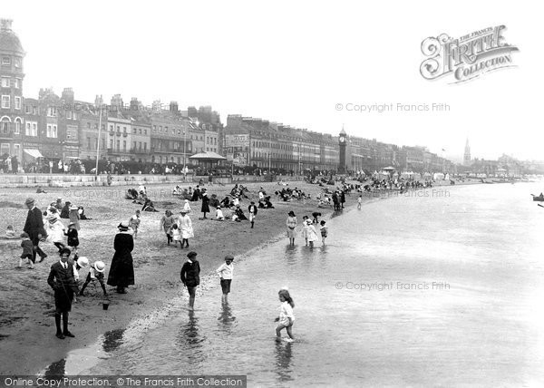 Photo of Weymouth, Sands 1918
