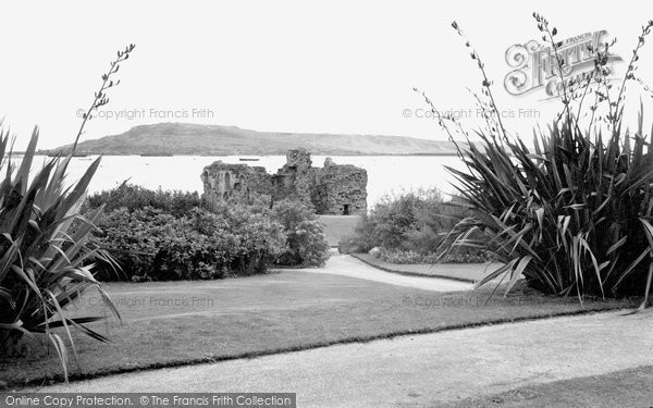 Photo of Weymouth, Sandsfoot Castle And Gardens c.1950