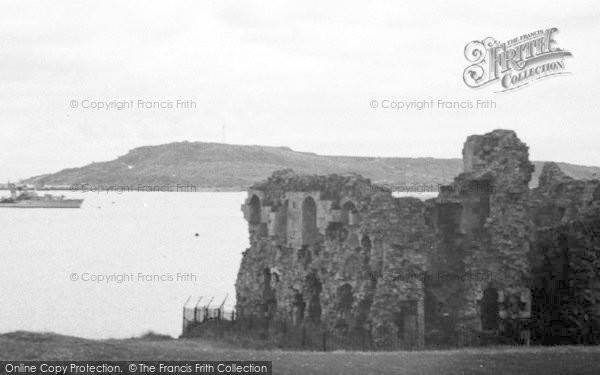 Photo of Weymouth, Sandsfoot Castle c.1955