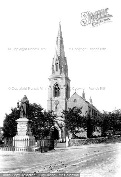 Photo of Weymouth, St John's Church 1904