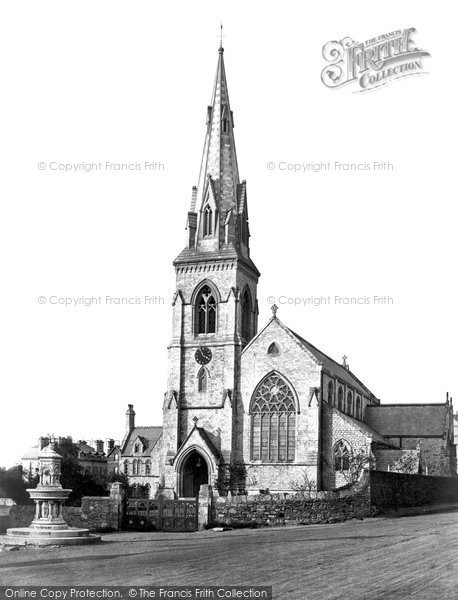 Photo of Weymouth, St John's Church c.1875