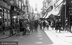 St Mary's Street c.1955, Weymouth