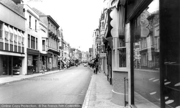 Photo of Weymouth, St Thomas Street c.1965