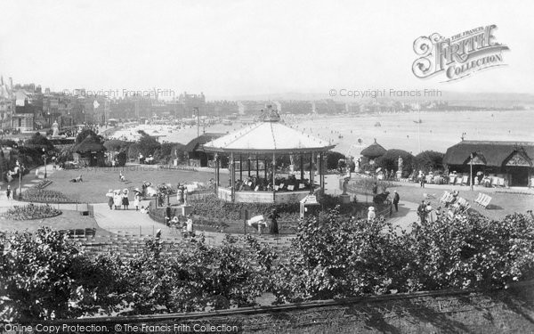 Photo of Weymouth, The Bandstand 1909