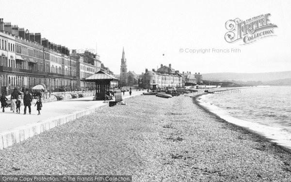 Photo of Weymouth, The Beach 1890