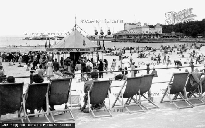 Photo of Weymouth, The Beach And The Pier c.1950