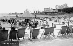 The Beach And The Pier c.1950, Weymouth