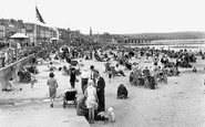 Weymouth, the Beach c1955