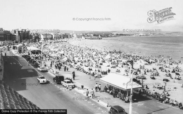 Photo of Weymouth, The Beach c.1960