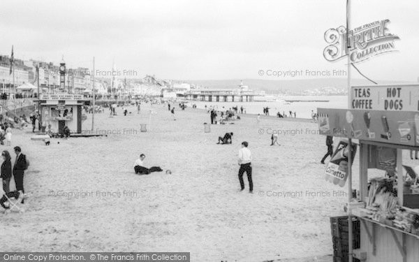 Photo of Weymouth, The Beach c.1965