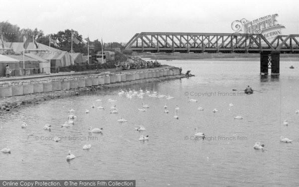 Photo of Weymouth, The Bridge c.1955