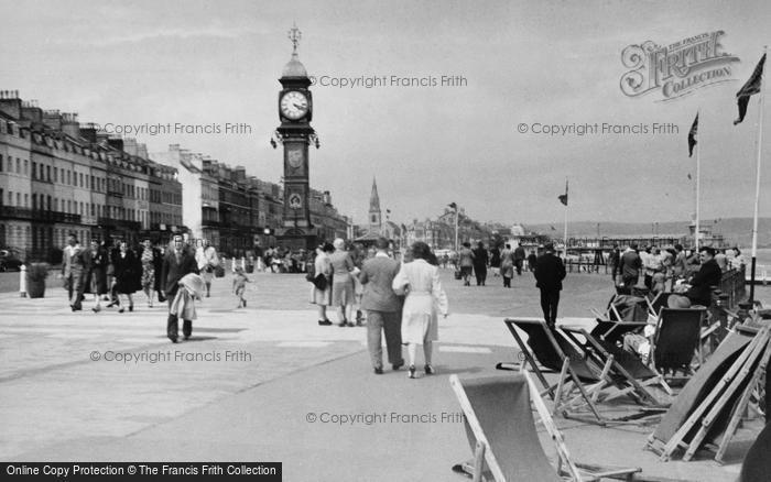 Photo of Weymouth, The Clock Tower c.1955
