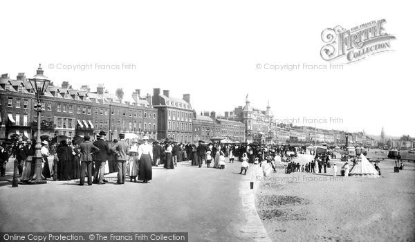 Photo of Weymouth, The Esplanade 1899