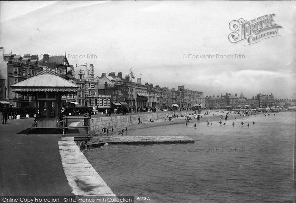 Photo of Weymouth, The Esplanade 1909