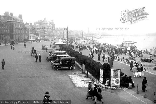 Photo of Weymouth, The Esplanade 1918