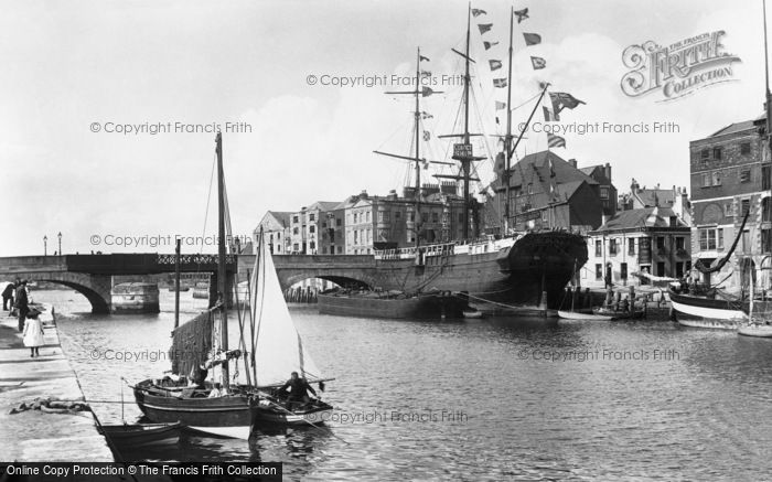 Photo of Weymouth, The Harbour 1904