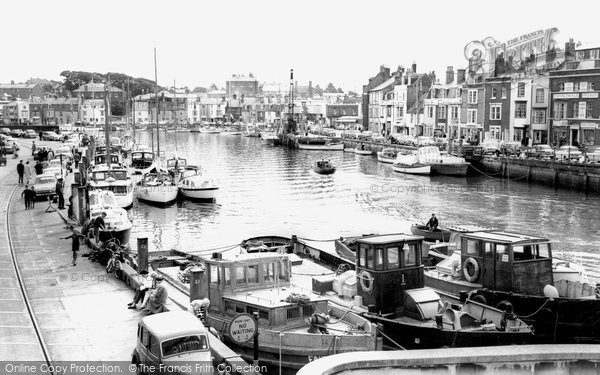 Photo of Weymouth, The Harbour 1965