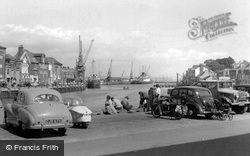 The Harbour c.1955, Weymouth