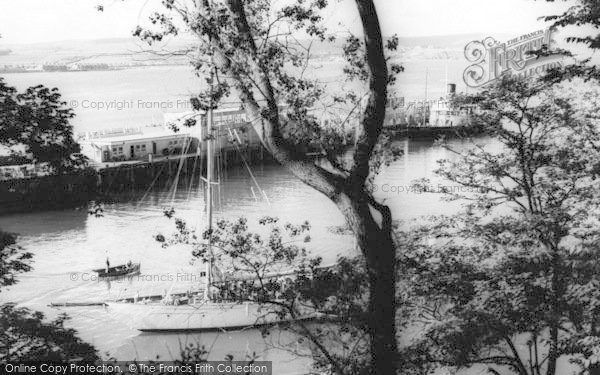 Photo of Weymouth, The Harbour c.1960