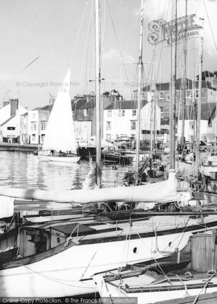 Photo of Weymouth, The Harbour c.1965