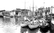 Weymouth, the Harbour c1965