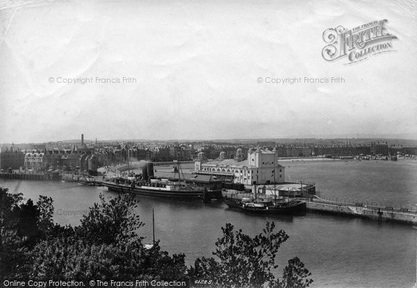 Photo of Weymouth, The Harbour View From The Nothe 1909