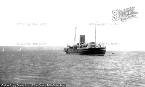 Photo of Weymouth, The Jersey Boat 1898
