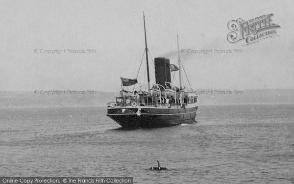 Photo of Weymouth, The Jersey Boat 1909