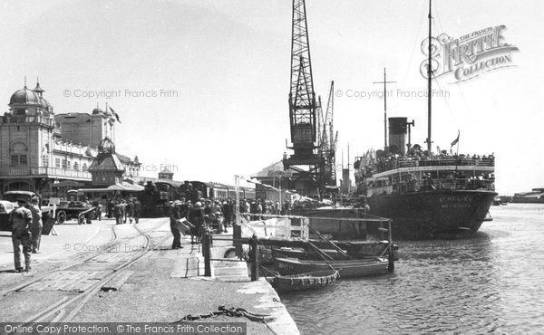 Photo of Weymouth, The Marine Station c.1955