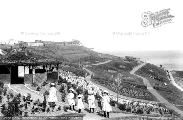 Photo of Weymouth, The Nothe Gardens 1909