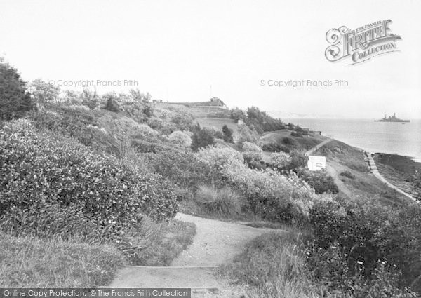 Photo of Weymouth, The Nothe Gardens 1923
